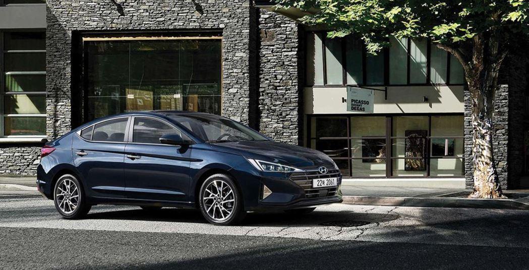 小改款Hyundai Elantra 64.9萬元起正式上市。 摘自Hyunda...