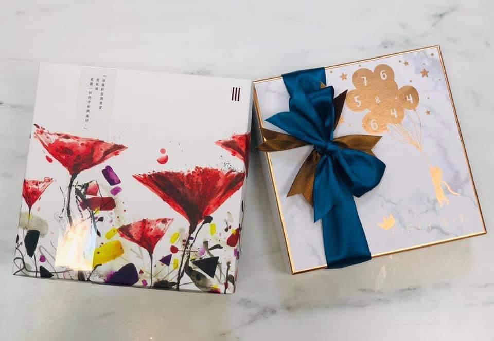 吳奇隆與劉詩詩為兒子挑選的彌月禮。圖/摘自臉書