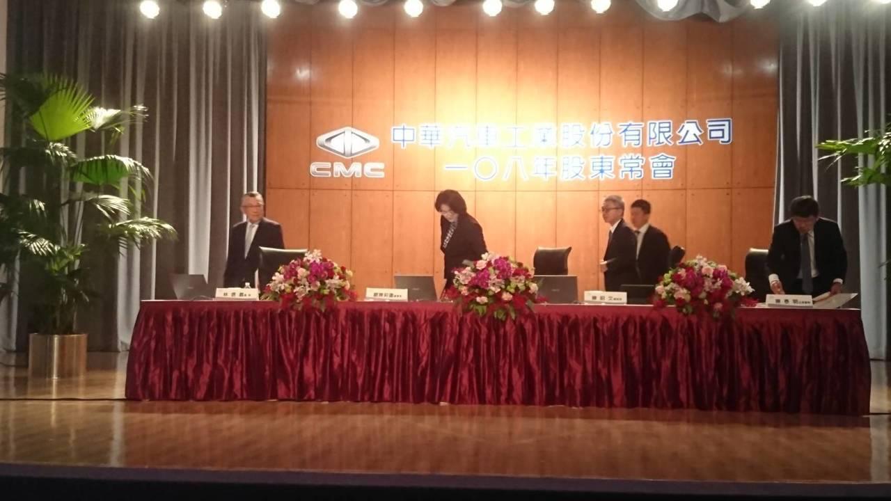 中華車今天股東會通過現金減資案。 記者黃淑惠/攝影