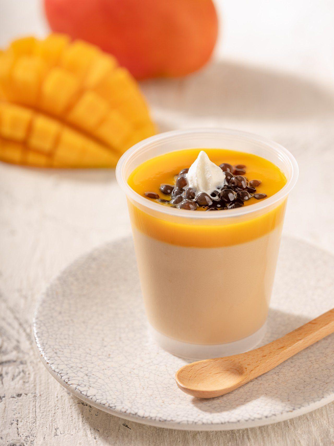 甜點茶奶酪有夏天的芒果口味。圖/春水堂提供