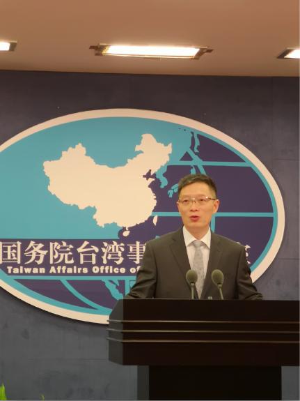 中共國台辦發言人安峰山表示,中國大陸歷來不介入台灣地區選舉,也反對任何外部勢力介...