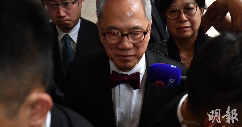 香港前特首曾蔭權提出終極上訴,終審法院推翻定罪。取自明報