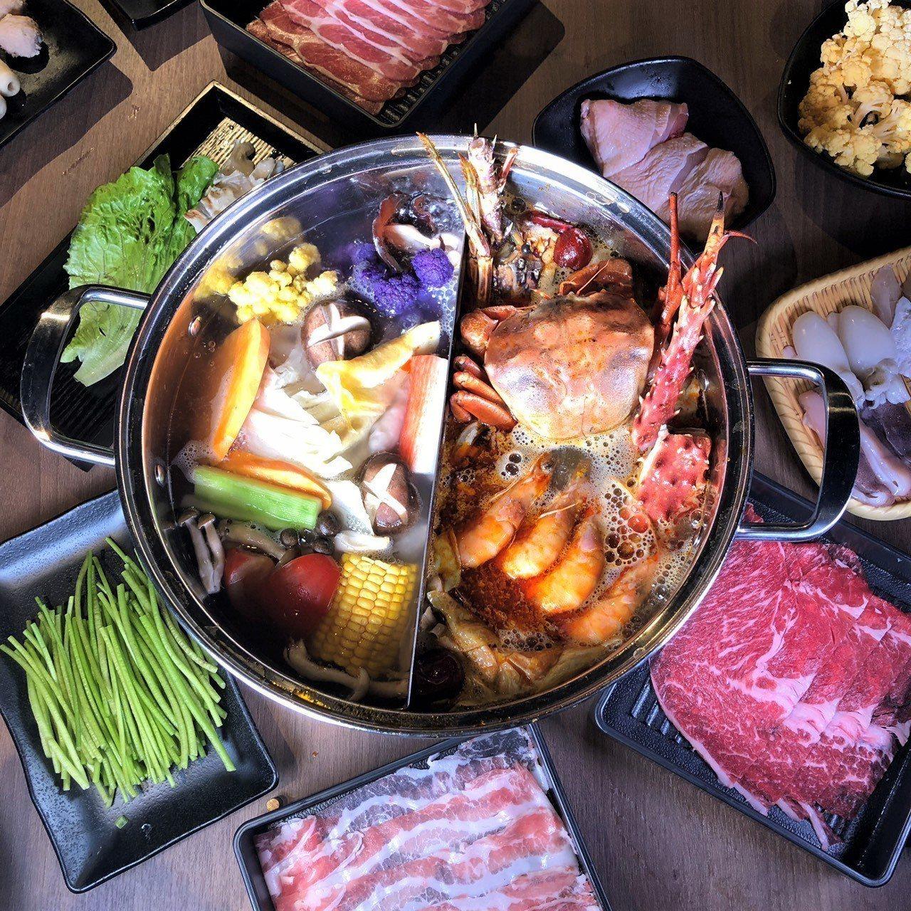 由海霸王所開設的前鎮水產,號稱是全台北最大的水產市集鍋物。圖/海霸王提供