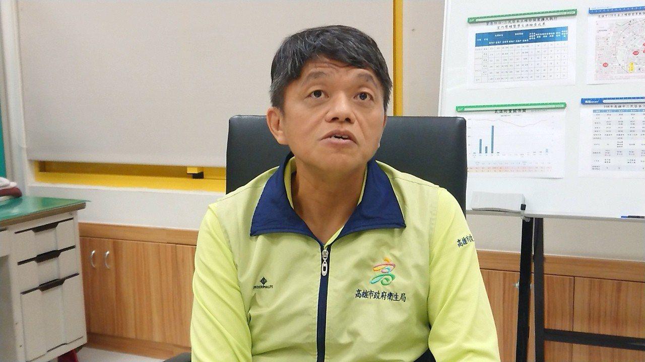 衛生局副局長林盟喬說,高市今又新增一本土登革熱案例,為60多歲女性,家住金獅湖市...