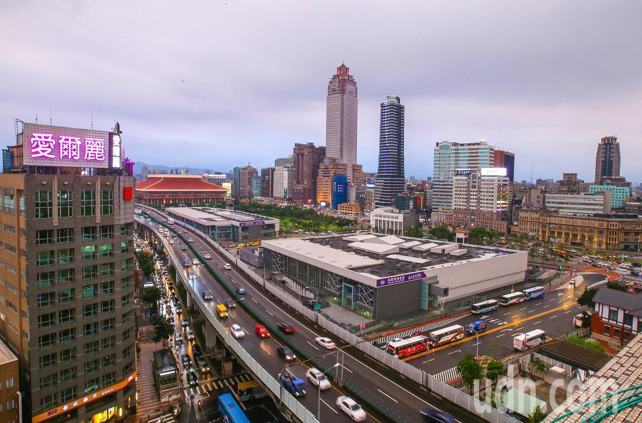 台北市雙子星開發案遭經濟部投審會,以涉及國家安全駁回。記者陳柏亨/攝影