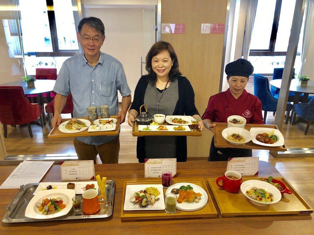 精心設計的坐月子餐,有各種不同口味,可滿足媽咪的所有需求。記者宋健生/攝影