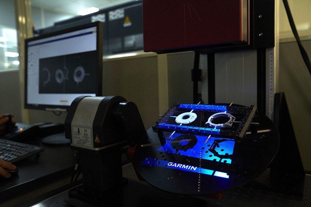 Garmin的實驗室。  Garmin/提供