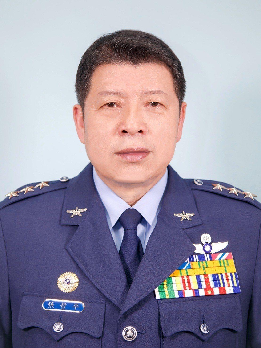 國防部上將軍政副部長由空軍司令部司令張哲平上將調任。圖/國防部
