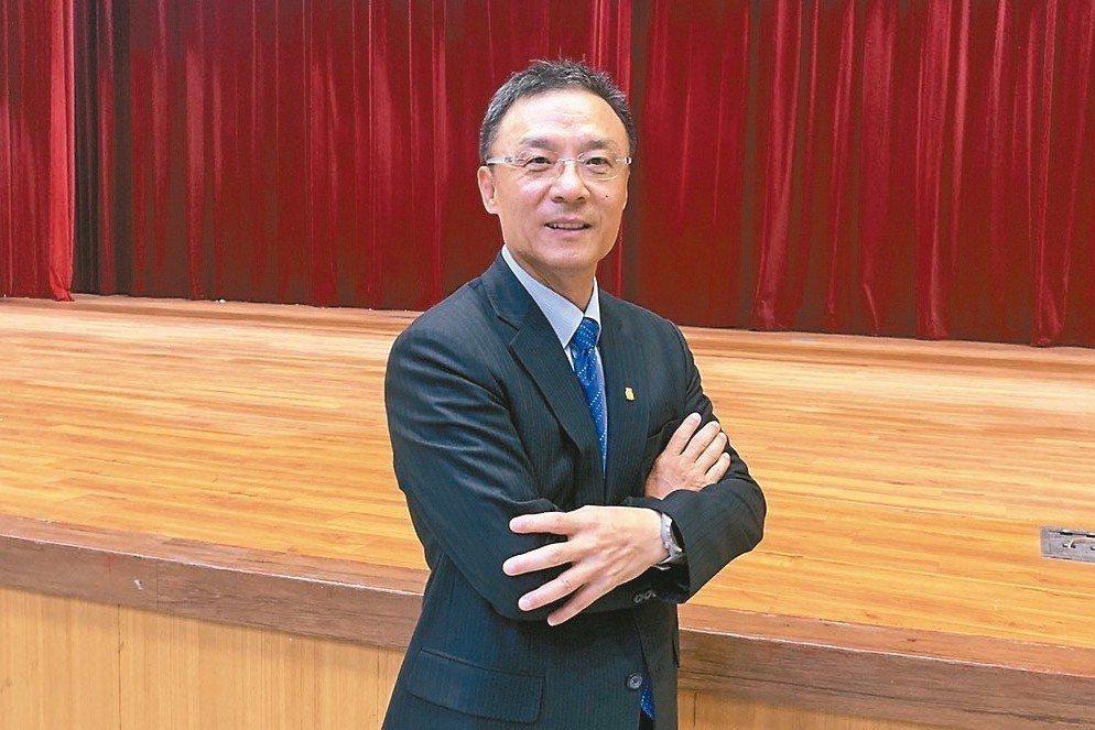 鈊象董事長李柯柱 記者陳昱翔/攝影
