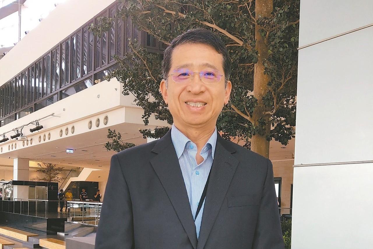 矽創董事長毛穎文 記者鐘惠玲/攝影