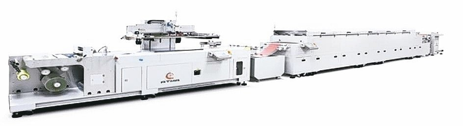 ATMALINE RR5060/S全自動卷對卷網印生產線。 東遠/提供