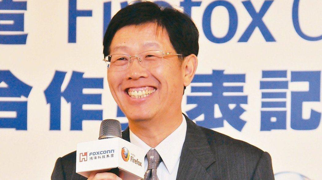 鴻海S次集團總經理劉揚偉將於7月起接任鴻海董事長。 報系資料照