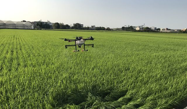 擎壤科技運用無人機打造智慧農業。 工業局/提供