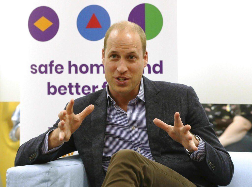 威廉王子今天表示,如果他的子女當中有人是同性戀者,他會完全支持。 圖/美聯社