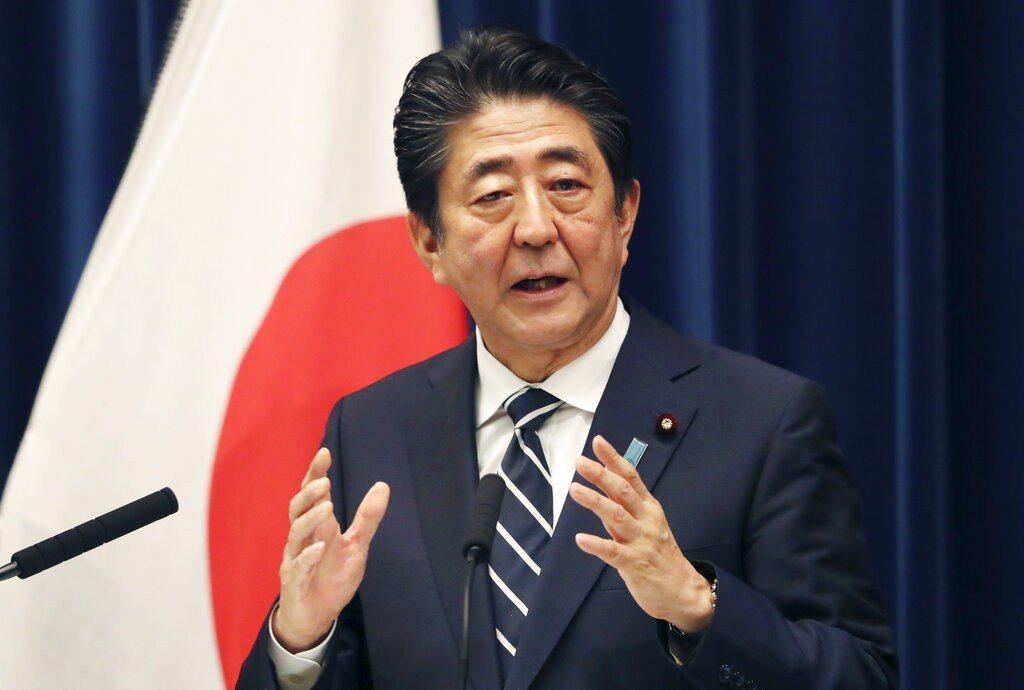 日本首相安倍晉三。 圖/美聯社