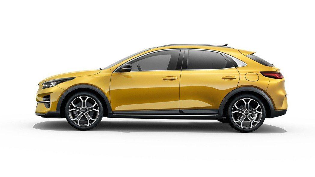 全新Kia XCeed車長4,395mm、車寬1,826mm、車高1,490mm...