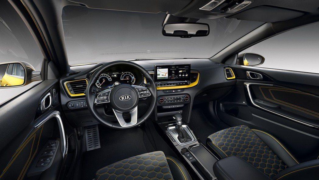 全新Kia XCeed車室。 摘自Kia