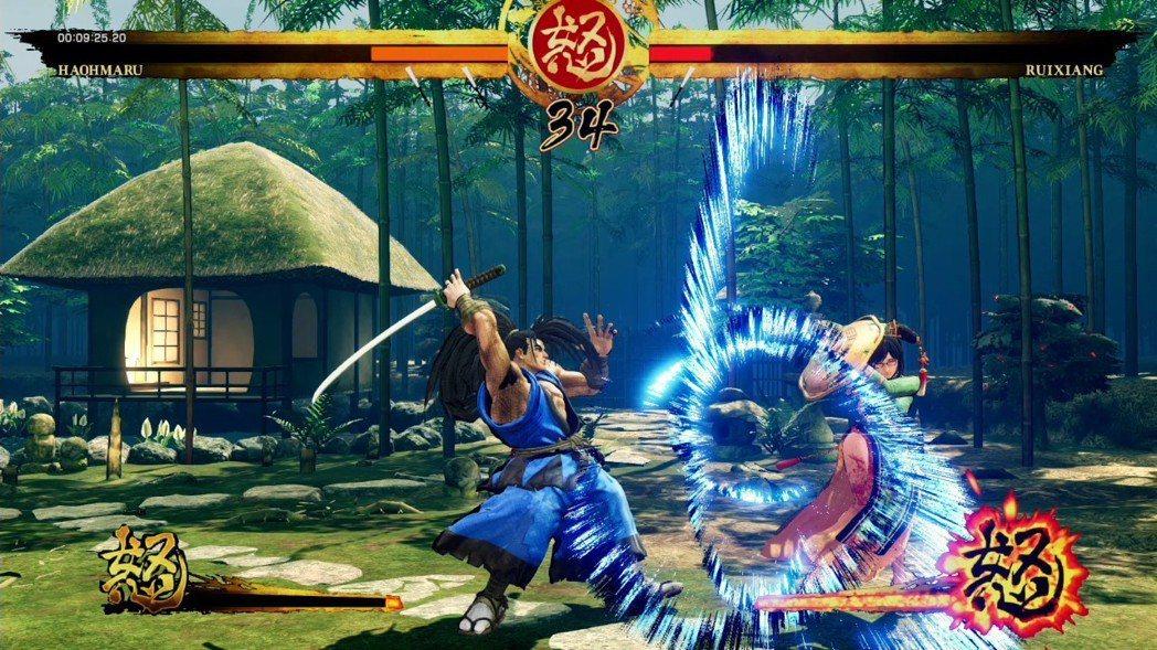 遊戲中會出現「看破防禦」的情形蠻多的,它的概念有點像以前 SNK 的格鬥遊戲「英...