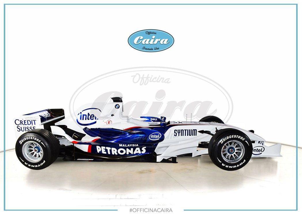 BMW-Sauber F1.07-06B。 摘自carscoops