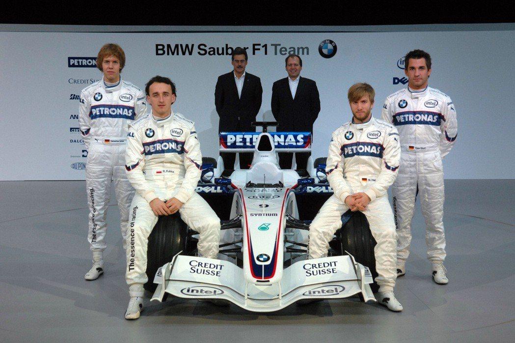 BMW-Sauber F1 Team。 摘自BMW