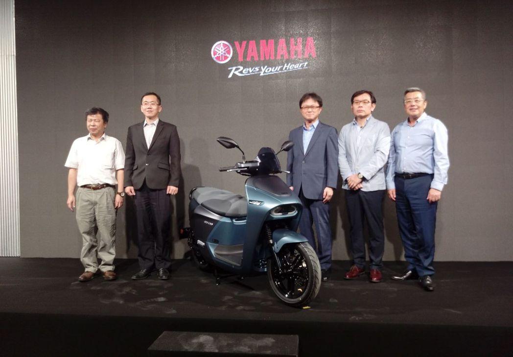 Yamaha在今日 (27) 發表與Gogoro合作的全新電動機車「EC-05」...