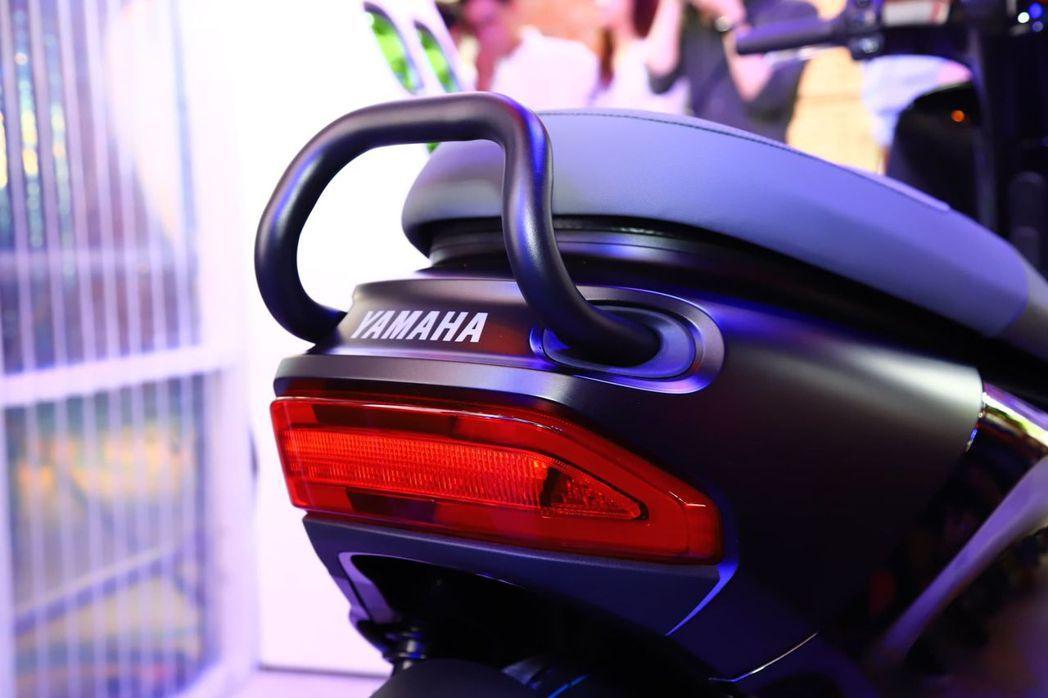 Yamaha EC-05 車尾細節。 記者張振群/攝影