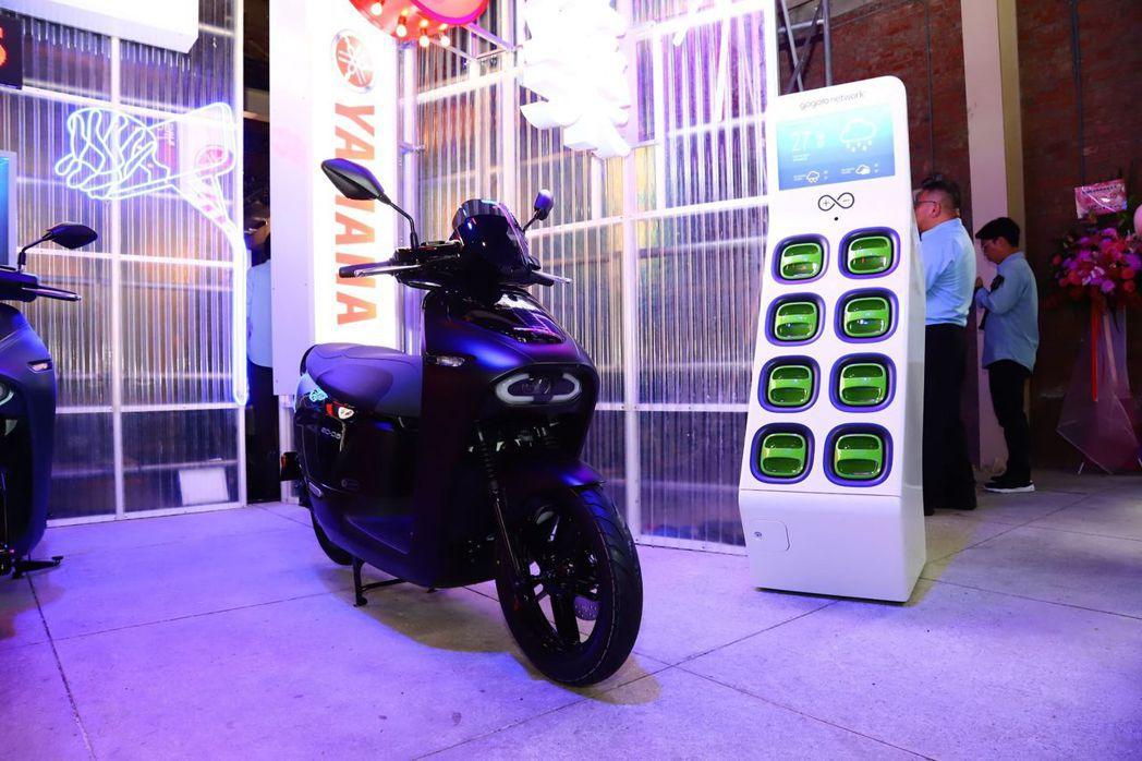 Yamaha EC-05正式加入台灣電動機車戰局。 記者張振群/攝影