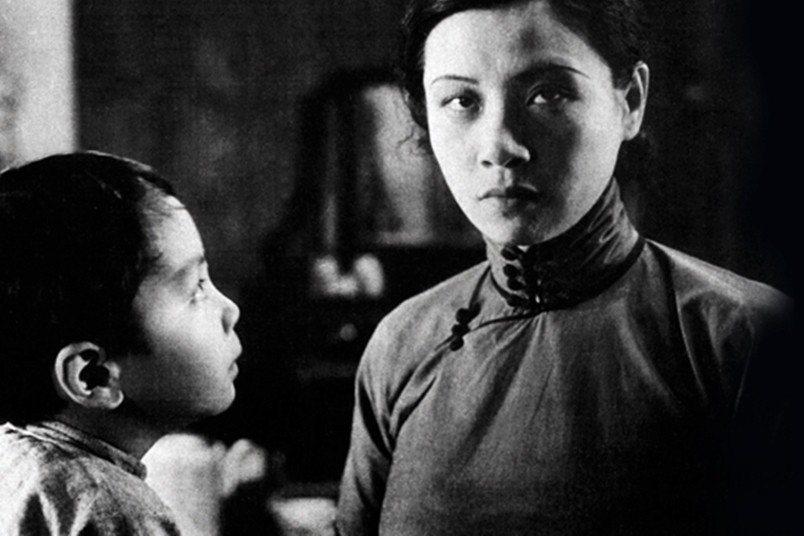 《神女》劇照,1934年。 圖/維基共享