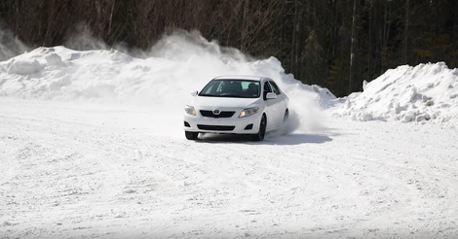 影/技術才是一切!用原廠十代Corolla也能在雪地拉力賽跑出好成績