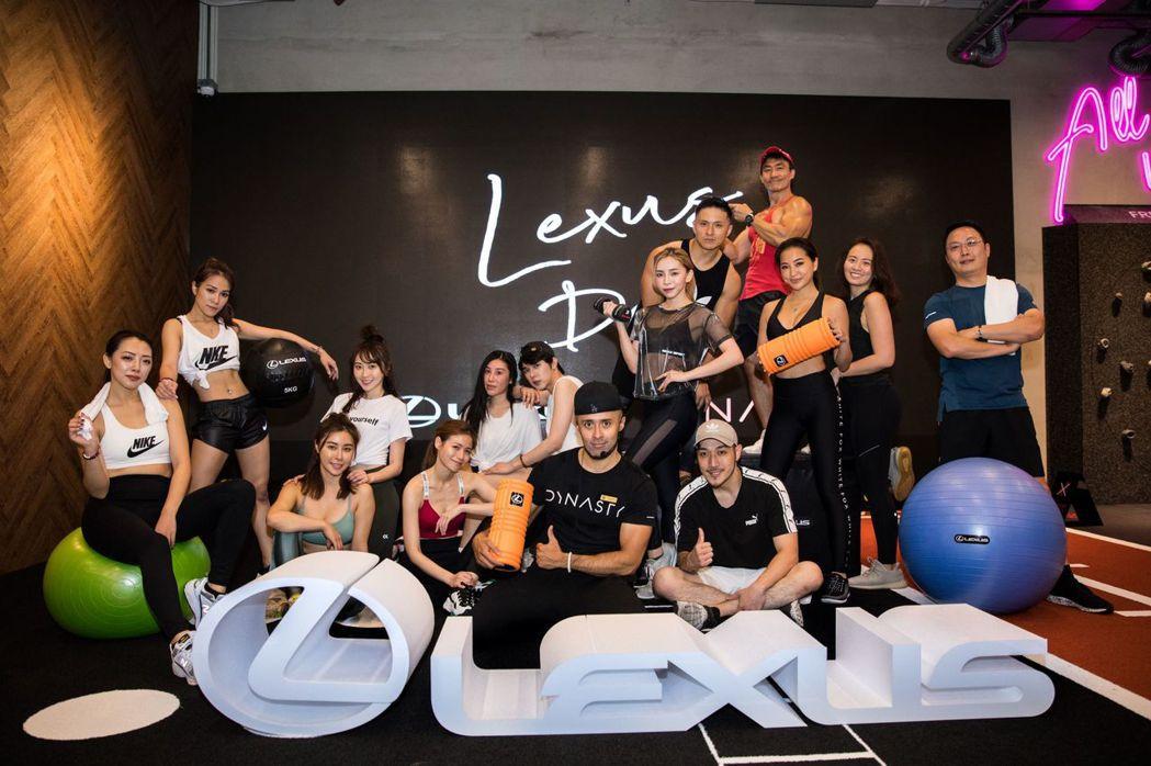 LEXUS首次跨足健身領域,推出LEXUS專屬健身體驗課程「LEXUS DAY」...