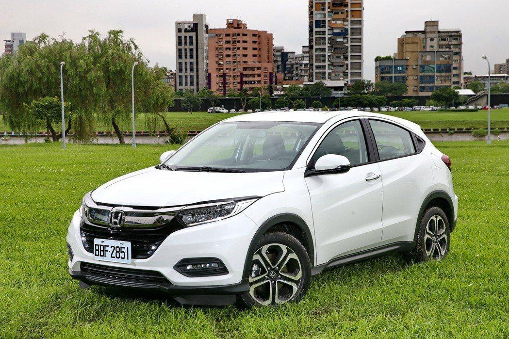 Honda HR-V。 記者蘇健忠/攝影