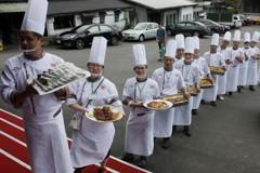 響應惜食分享 企業主廚打造五星級共餐