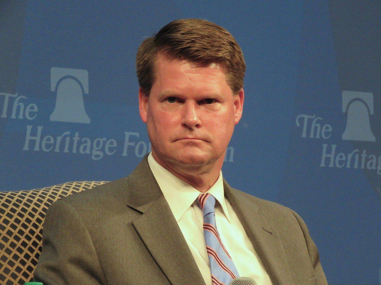 美國國防部印太事務助理部長薛瑞福。華盛頓記者張加/攝影