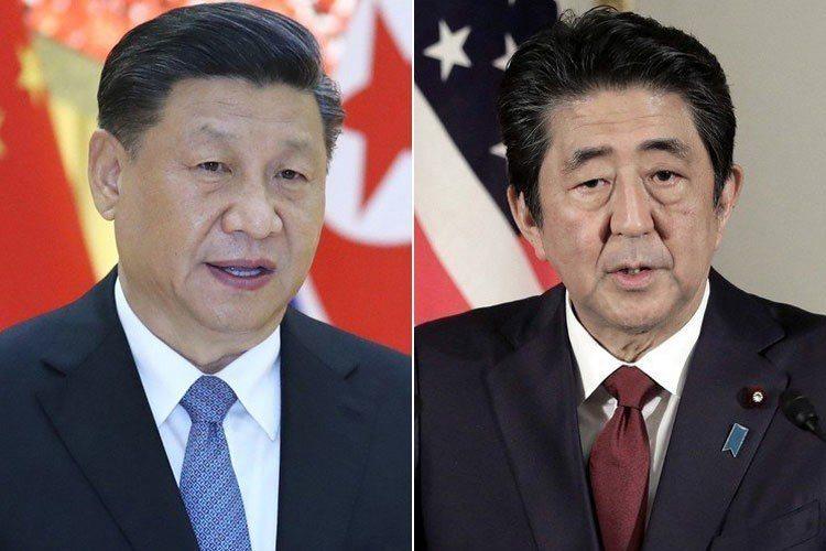 習近平(左圖)與安倍晉三(右圖)今天晚間將進行會談。新華社、美聯社