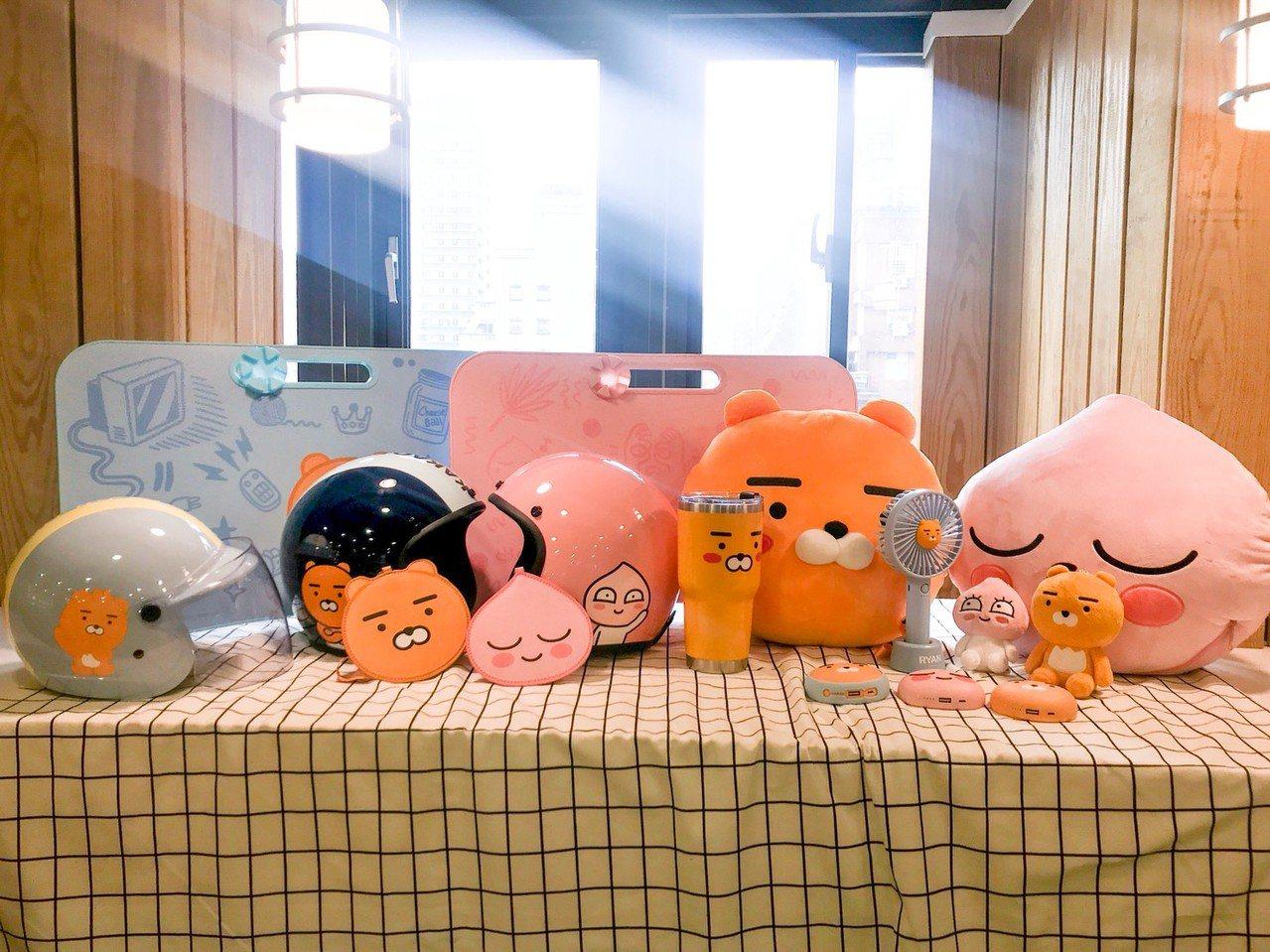 全家便利商店7月3日起推出韓國「Kakao Friends」全店集點,是Kaka...