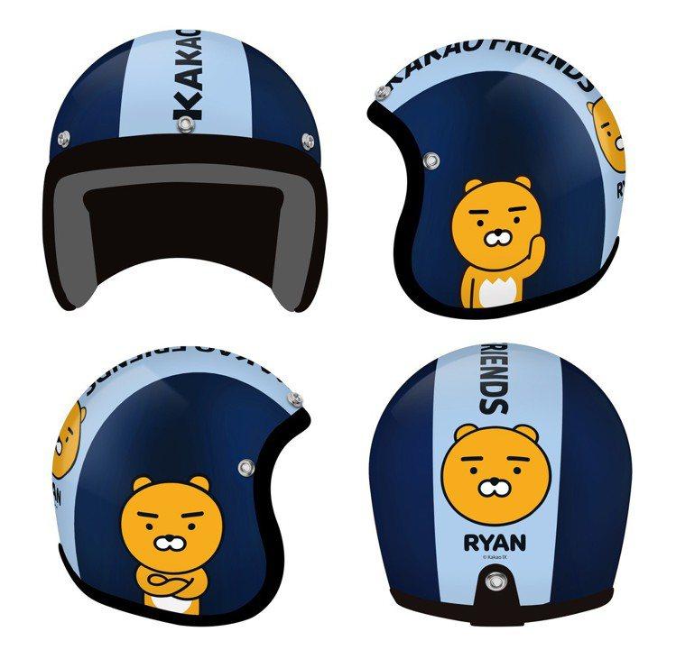 Kakao Friends成人安全帽-Ryan款,800點+599元或3,000...
