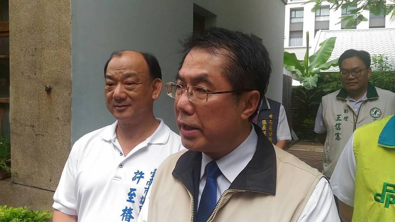 台南市長黃偉哲說,罷免權的行使是民眾的權利,是憲法所賦予的權力,但是罷免權的使用...
