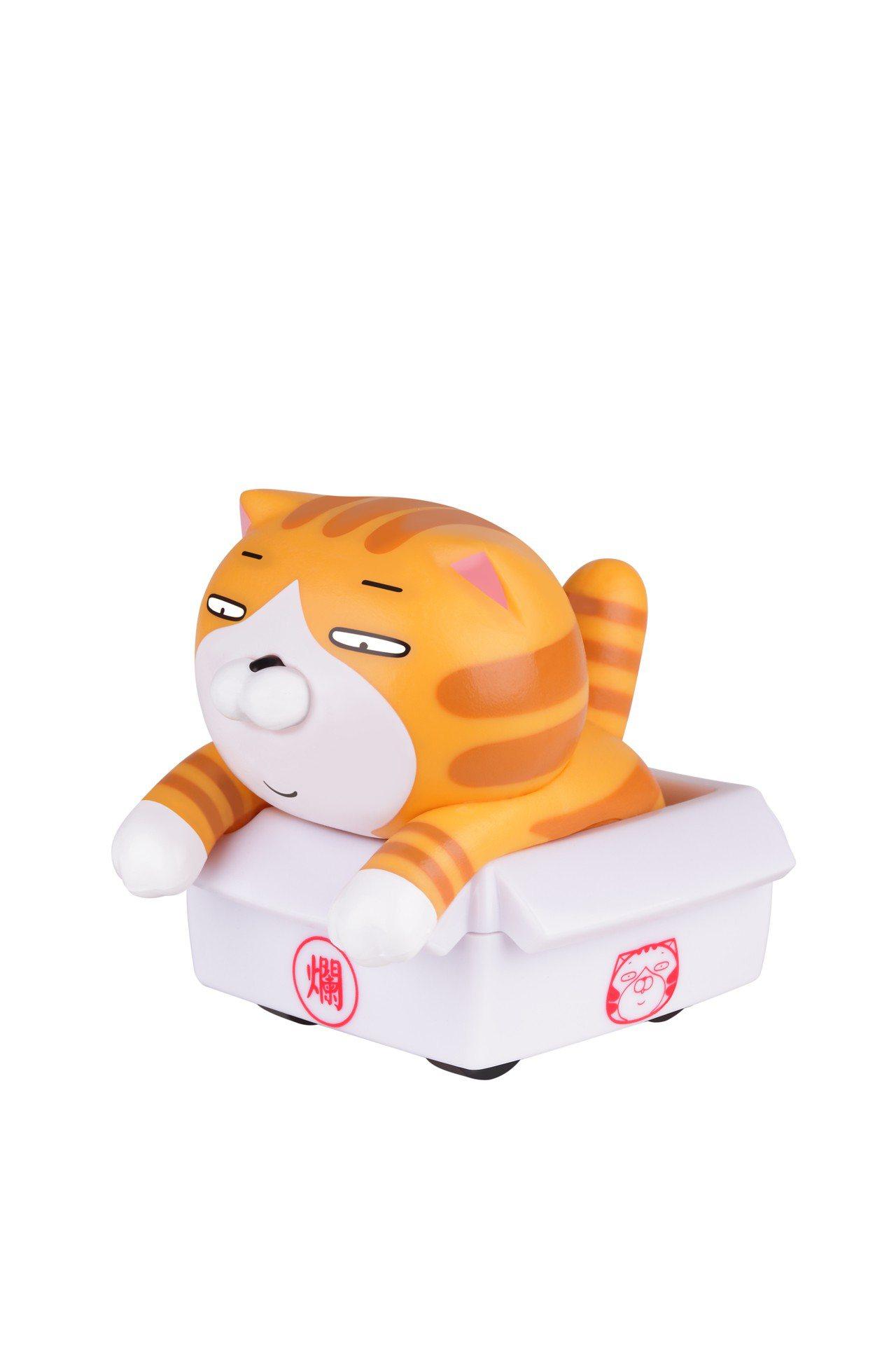 白爛貓「無厘頭人生迴力車」BJ4款,7月3日起首波推出,限量10萬台。圖/全家便...