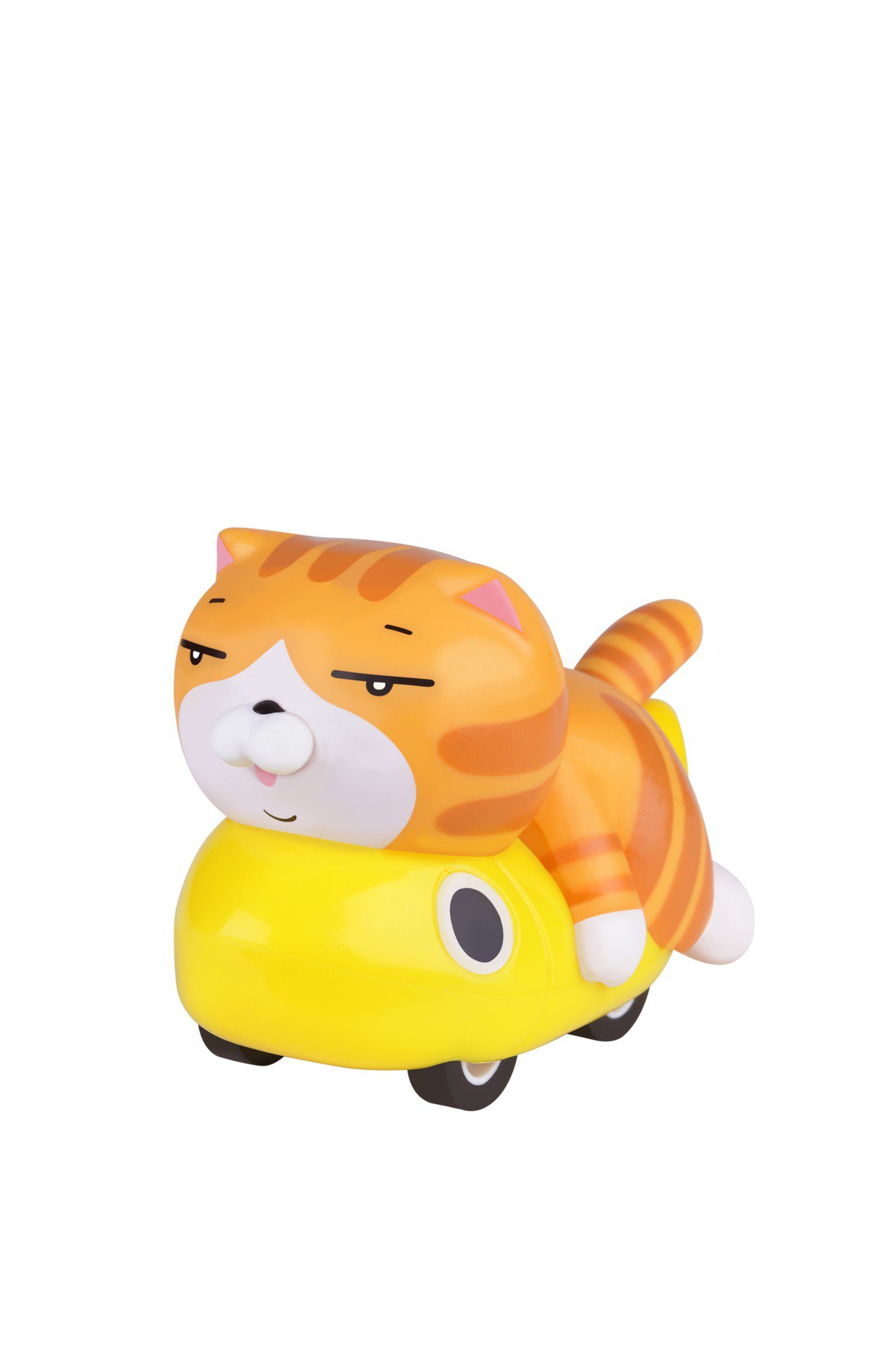 白爛貓「最愛那條魚迴力車」最愛黃金魚款,7月17日起第二波推出,限量10萬台。圖...