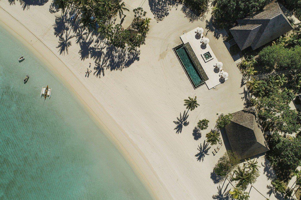 一晚要價四百萬!包括可享受專屬私人小島。圖/Airbnb提供