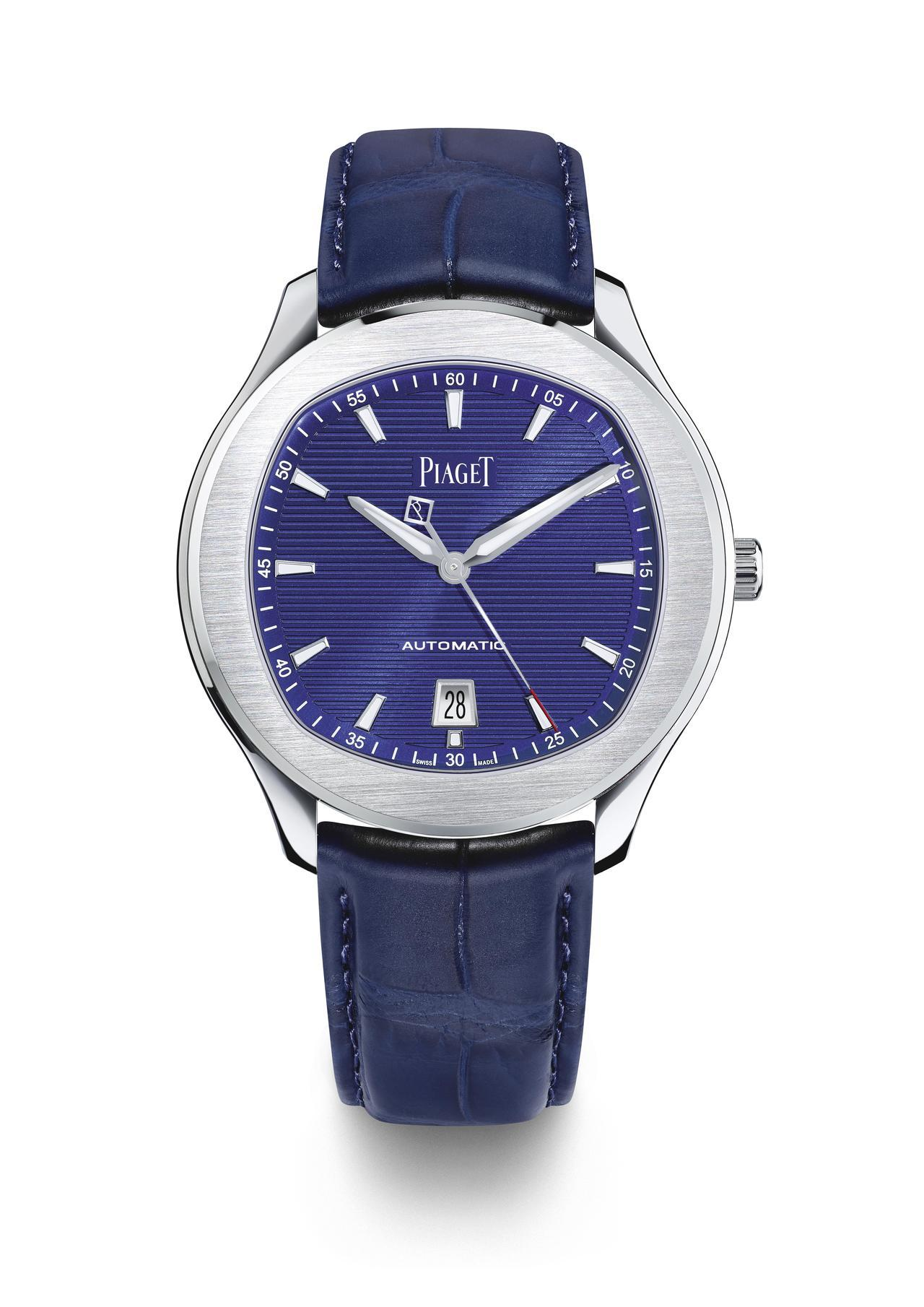 PIAGET Polo S系列精鋼自動上鍊腕表,28萬3,000元。圖/伯爵提供