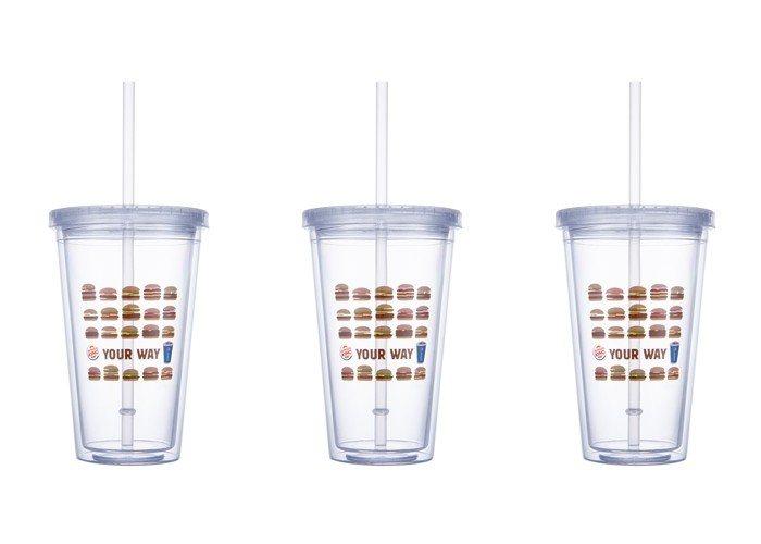 漢堡王與百事可樂聯名推出冷飲杯,限量15,000個。圖/漢堡王提供