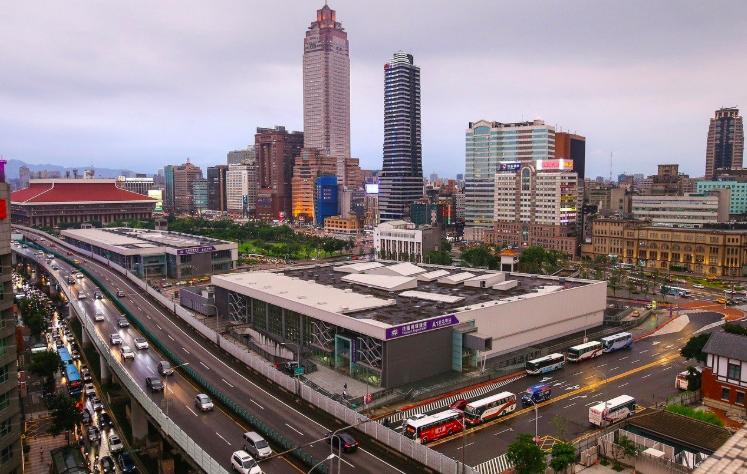 台北市雙子星開發案遭經濟部投審會,以涉及國家安全議題等三大理由駁回。 聯合報系資...
