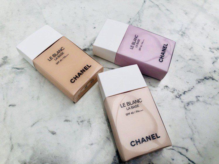 蜜桃、玫瑰、紫玉蘭三款香奈兒妝前神器「珍珠光感新一代防護妝前乳」,讓你光芒0死角...