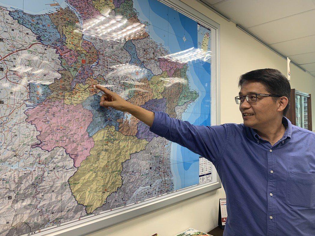 新北市副秘書長邱敬斌昨表示,江翠北側的風廊示範將拓及未來的溫仔圳、蘆南蘆北及土城...