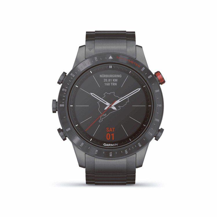 Garmin MARQ系列Driver賽車手智能工藝腕表,約92,000元。 圖...