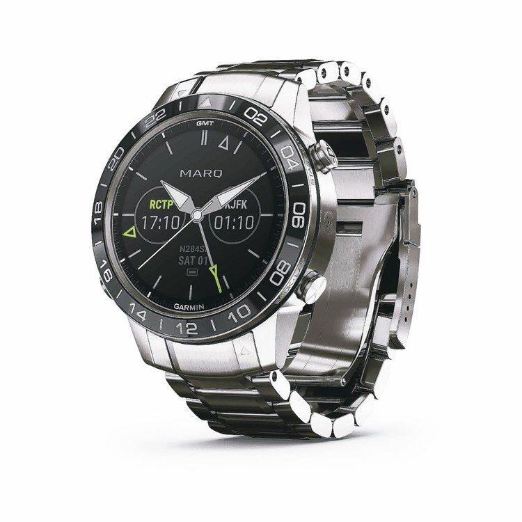 Garmin MARQ系列Aviator飛行員智能工藝腕表,約76,000元。 ...