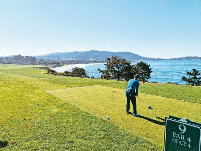 有行旅特別於11月規劃「美國圓石灘高爾夫圓夢之旅」行程。 圖/有行旅提供