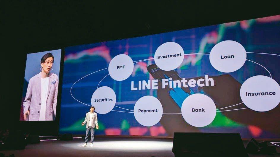 LINE共同執行長暨企業文化長慎重熩宣布,今年以融合線下、金融科技、AI作為三大...