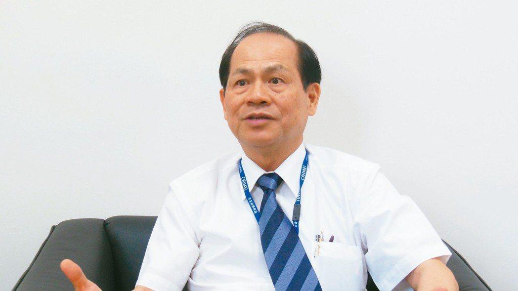 誠美材董事長何昭陽。 本報資料照片